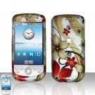 HTC G2 MyTouch 3G Red Flowers Cover Case Snap on Protector