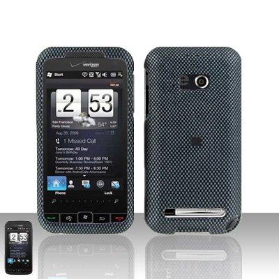 HTC Imagio Touch Diamond 2 CDMA Carbon Fiber Cover Case Snap on Protector