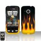 HTC Droid Eris S6200 Flames Case Cover Snap on Protector