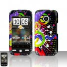HTC Droid Eris S6200 Colorful Music Case Cover Snap on Protector