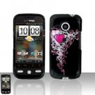 HTC Droid Eris S6200 Heart Case Cover Snap on Protector