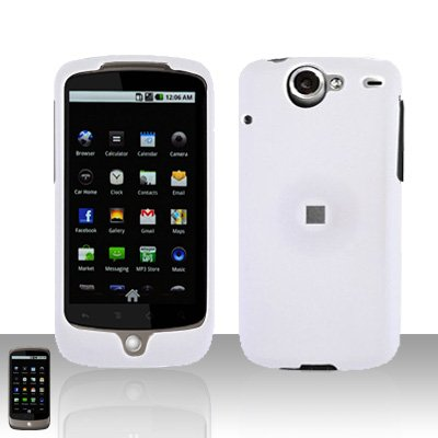HTC Google Nexus One Whtie Case Cover Snap on Protector