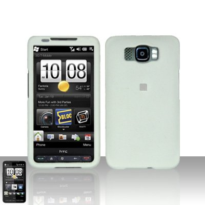 HTC Leo HD2 White Case Cover Snap on Protector