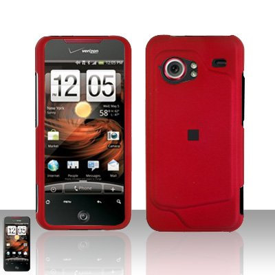 HTC Droid Incredible 6300 Red Case Cover Snap on Protector