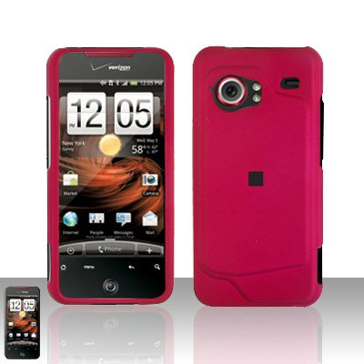 HTC Droid Incredible 6300 Pink Case Cover Snap on Protector