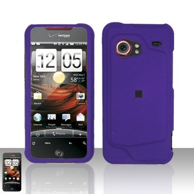 HTC Droid Incredible 6300 Purple Case Cover Snap on Protector
