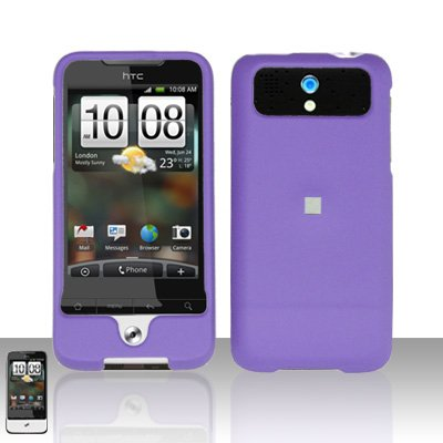 HTC Legend A6363 Purple Case Cover Snap on Protector