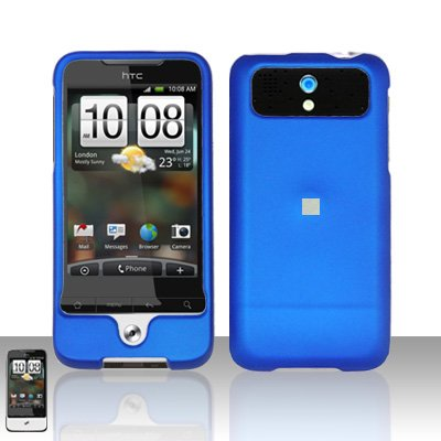 HTC Legend A6363 Blue Case Cover Snap on Protector
