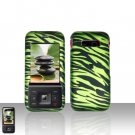 Kyocera Laylo M1400 Green Zebra Case Cover Snap on Protector