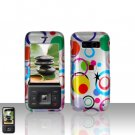 Kyocera Laylo M1400 Colorful Dots Case Cover Snap on Protector