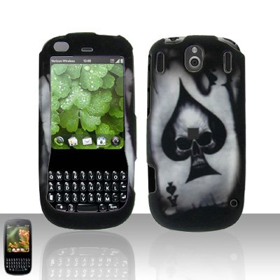 Palm Pixi Plus Spade Skull Case Cover Snap on Protector