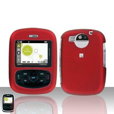 Red Case Cover Snap on Protector for UTStarcom TXTM8 8026c