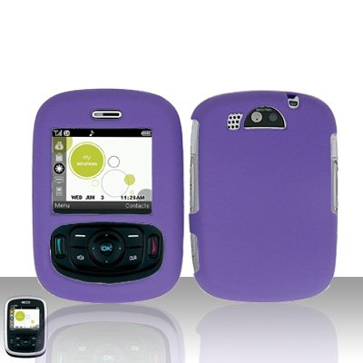 Purple Case Cover Snap on Protector for UTStarcom TXTM8 8026c