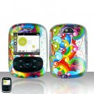 Colorful Design Case Cover Snap on Protector for UTStarcom TXTM8 8026c