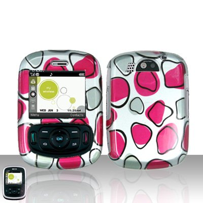 Pink Spots Case Cover Snap on Protector for UTStarcom TXTM8 8026c