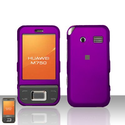 Huawei M750 Purple Case Cover Snap on Protector