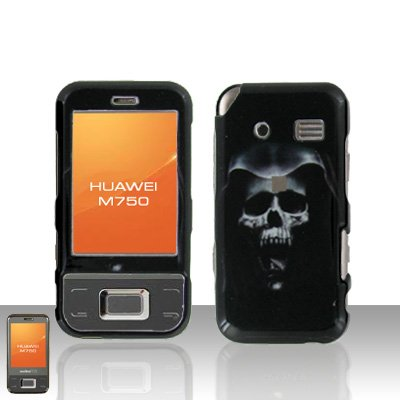 Huawei M750 Hooded Skull Case Cover Snap on Protector
