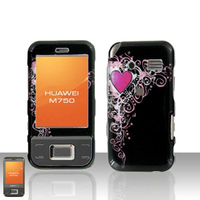 Huawei M750 Pretty Heart Case Cover Snap on Protector