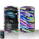 Rainbow Zebra Case Cover Snap on Protector for HP iPAQ Glisten