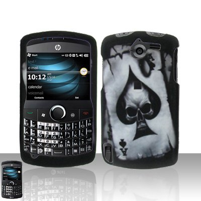 Spade Skull Case Cover Snap on Protector for HP iPAQ Glisten