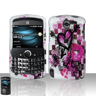 Arrow Heart Case Cover Snap on Protector for HP iPAQ Glisten