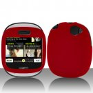 Red Hard Case Cover for Mircorsoft Sharp Kin 1 One