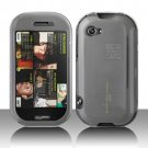 Clear Transparent Hard Snap On Case Cover for Mircorsoft Sharp Kin 2 Two