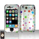 Colorful Stars Cover Case Hard Snap on Protector for Apple iPhone 3G 3GS