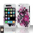 Arrow Heart Cover Case Hard Snap on Protector for Apple iPhone 3G 3GS