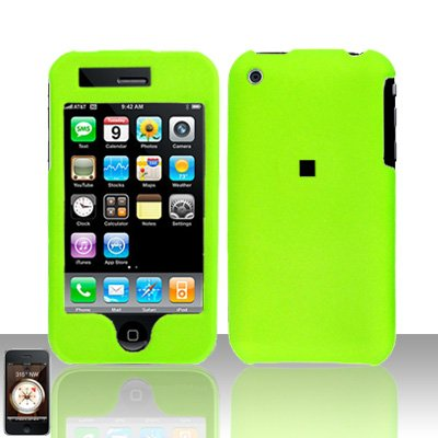 Light Green Cover Case Hard Snap on Protector for Apple iPhone 3G 3GS