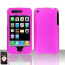 Pink Cover Case Hard Snap on for Apple iPhone 3G 3GS