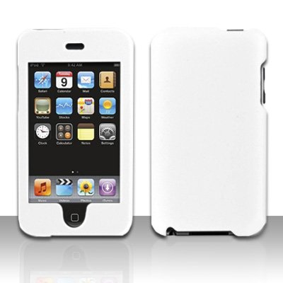 White Hard Snap on Case Cover for Apple iPod Touch 2 Touch 3
