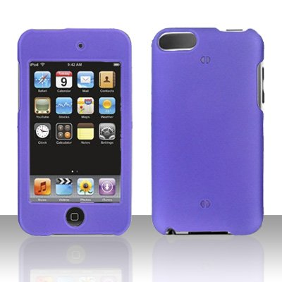 Purple Hard Snap on Case Cover for Apple iPod Touch 2 Touch 3
