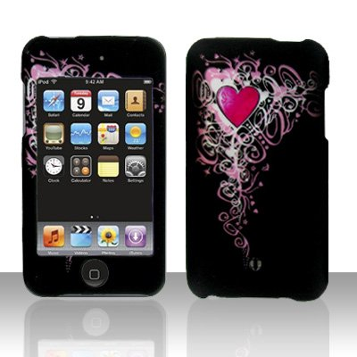 Pretty Heart Hard Snap on Case Cover for Apple iPod Touch 2 Touch 3
