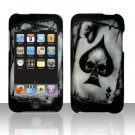 Spade Skull Hard Snap on Case Cover for Apple iPod Touch 2 Touch 3