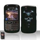 Blackberry Bold 9650 Hooded Skull Cover Case Snap on Protector