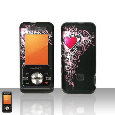 Pretty Heart Case Cover Snap on Protector for ZTE C70