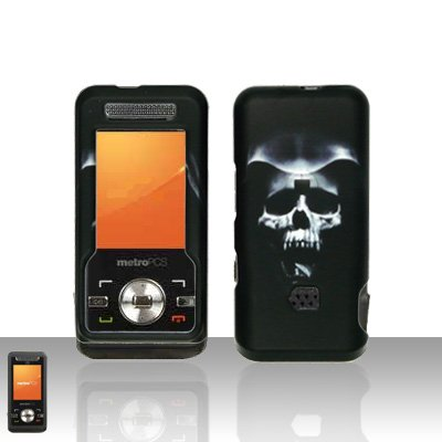 Hooded Skull Case Cover Snap on Protector for ZTE C70