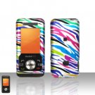 Rainbow Zebra Case Cover Snap on Protector for ZTE C70
