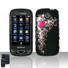 Pretty Heart Cover Case Snap on Protector for Samsung Reality U820