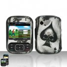 Spade Skull Cover Case Snap on Protector for LG Remarq LN240