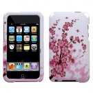 Pink Flowers Hard Snap on Case Cover for Apple iPod Touch 2 Touch 3