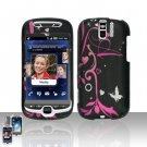HTC myTouch Slide 3G Heart Flower Design Case Cover Snap on Protector