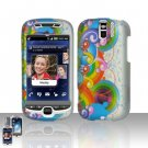 HTC myTouch Slide 3G Rainbow Case Cover Snap on Protector