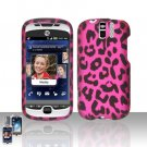 HTC myTouch Slide 3G Pink Leopard Case Cover Snap on Protector