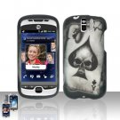 HTC myTouch Slide 3G Spade Skull Case Cover Snap on Protector