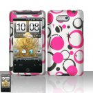 HTC Aria Pink Leopard Case Cover Snap on Protector