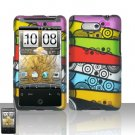 HTC Aria Colorful Stripes Case Cover Snap on Protector