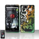 Motorola Droid X MB810 Vines Design Case Cover Snap on Protector