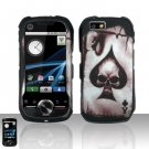 Spade Skull Case Cover Snap on Protector for Motorola i1
